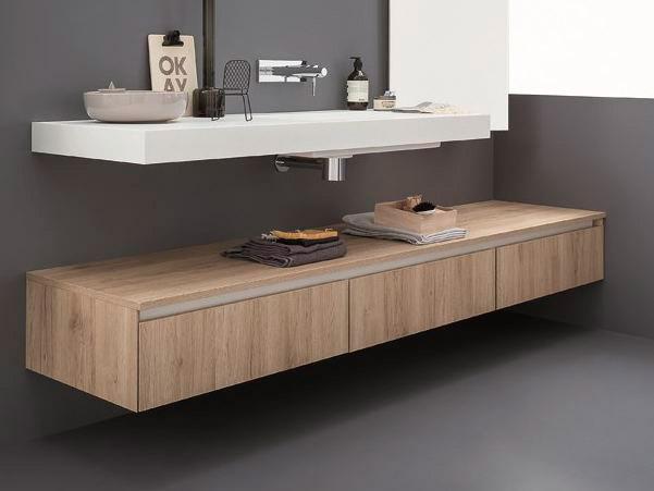 Muebles de ba o modernos a medida en a coru a - Tiradores modernos para muebles de bano ...