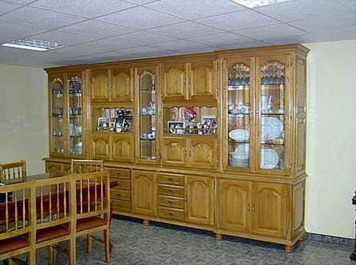 Fabricaci n de muebles de madera maciza a coru a for Muebles salon madera maciza