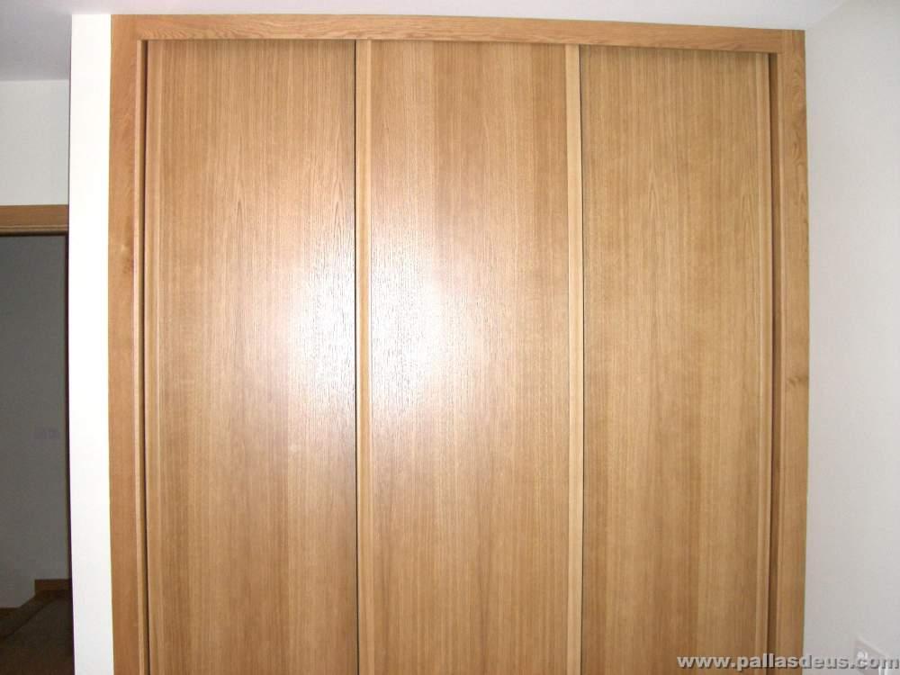 Puerta corredera armario empotrado finest armario - Puertas correderas armario empotrado ...