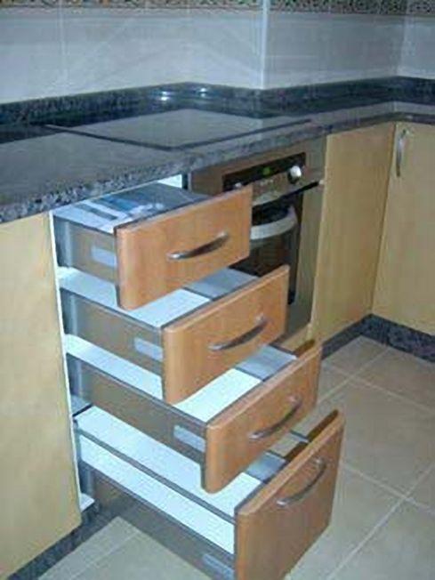 Fabricaci n y colocaci n de muebles de ba o a medida a coru a for Cajoneras de madera para cocina