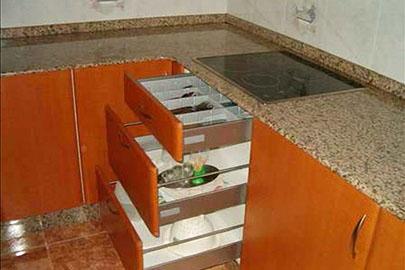 Fabricaci n de cocinas cerceda for Cajoneras cocina