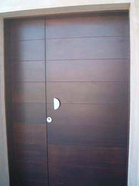 Puertas entrada chalet amazing si with puertas entrada - Puertas de madera de entrada ...