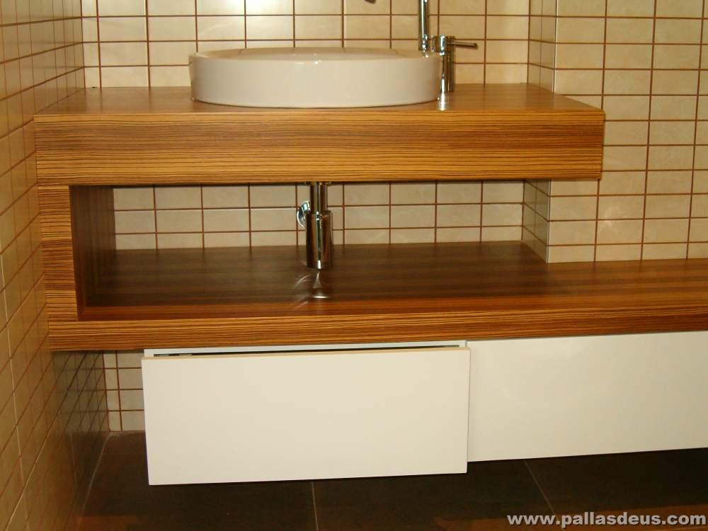 Fabricaci n y colocaci n de muebles de cocina a medida a - Muebles de lavabo a medida ...