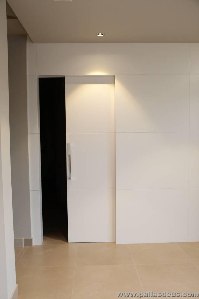 Carpinter a de madera en nar n puertas y muebles a medida - Puertas correderas empotradas en tabique ...
