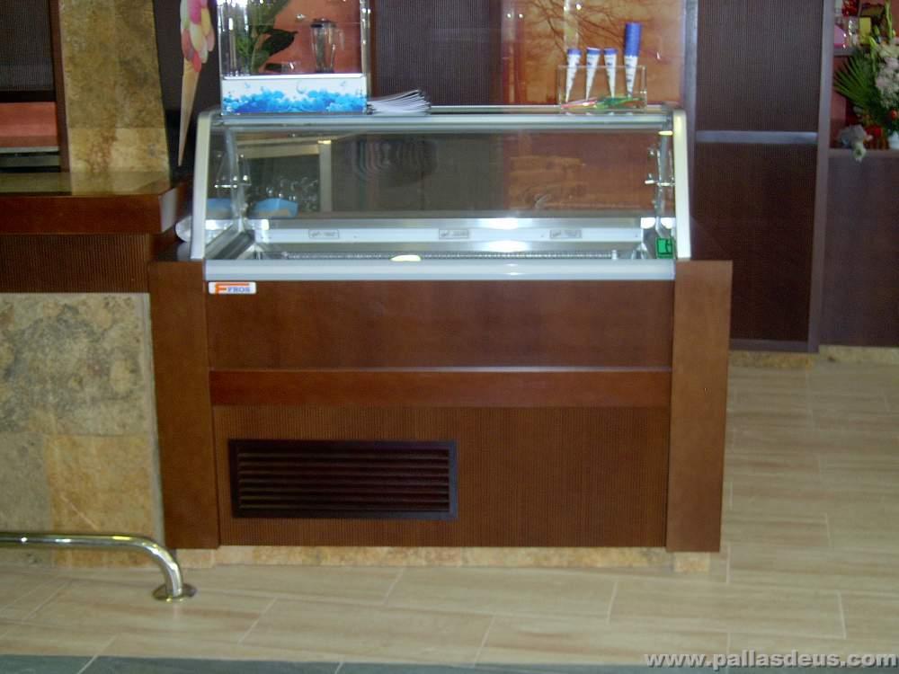 Restaurante o panadeiro mobiliario en madera para - Mostradores de bar ...