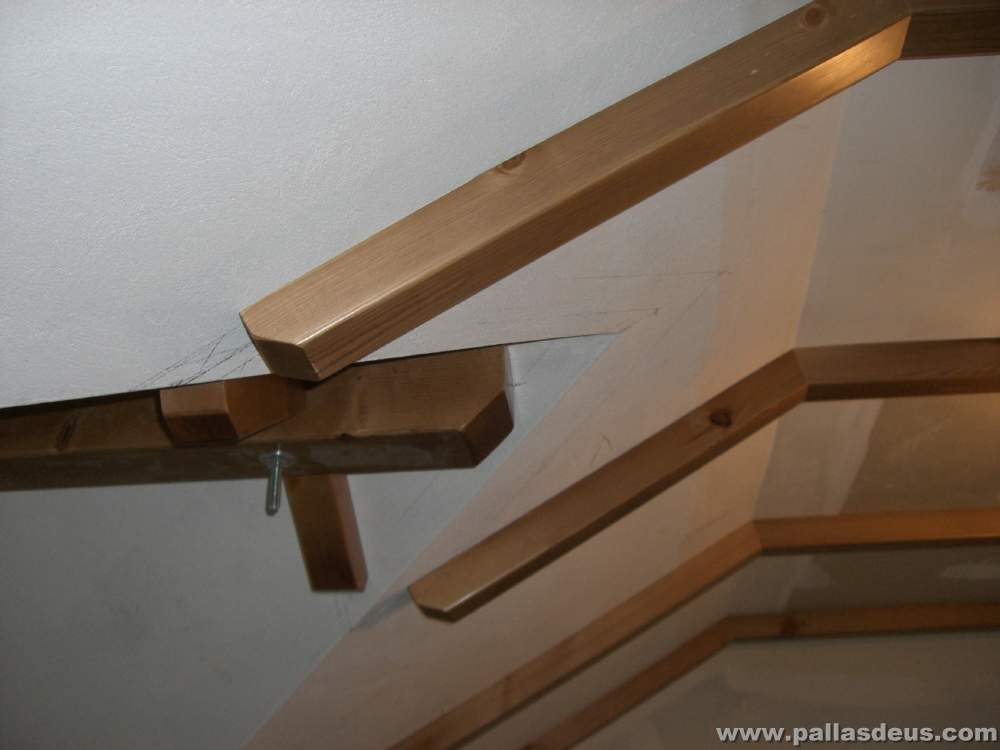 vigas rsticas de madera