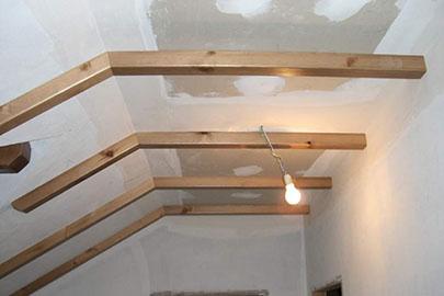 Fabricaci n e colocaci n de vigas r sticas de madeira coru a - Vigas de madera en valencia ...