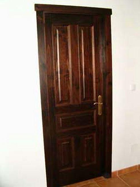 Puertas r sticas de madera a medida coru a for Puertas madera a medida